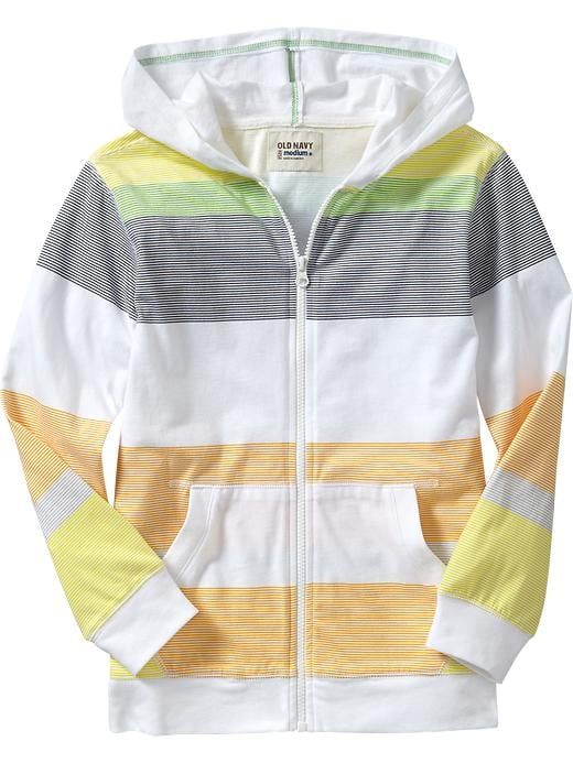 Old Navy Boys Striped Lightweight Hoodie ($18)