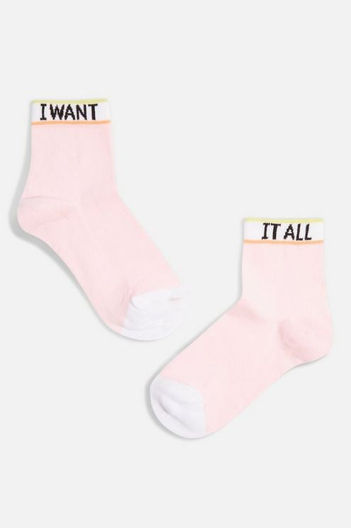 Want It All Socks