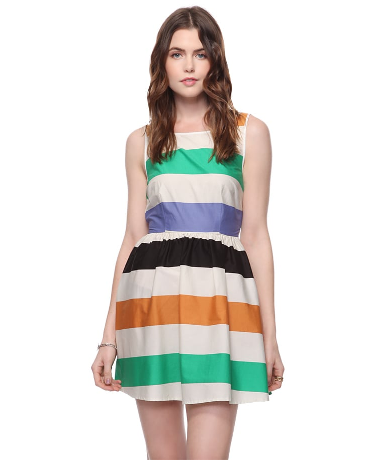 Heritage 1981 Colorblocked Swing Dress ($23)