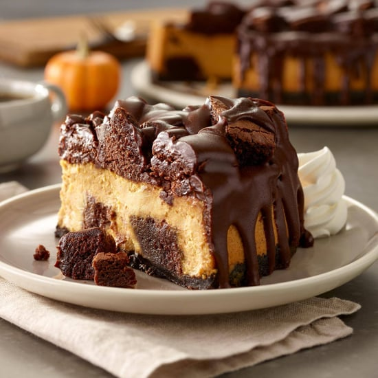 Olive Garden Chocolate Pumpkin Cheesecake
