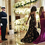 Sophie Gregoire-Trudeau's Dress at Canada State Dinner 2016