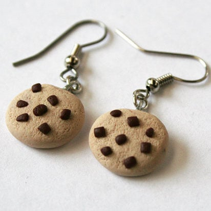 Wear these chocolate chip cookie earrings ($11) with an ice-cream-inspired dress for a cheeky nod to everybody's favorite frozen sandwich.
