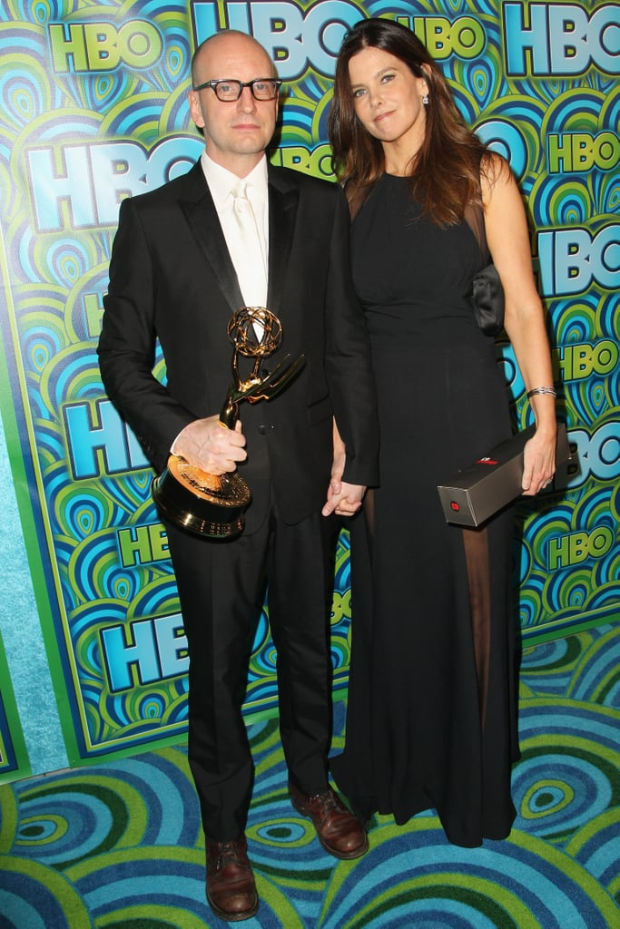 Steven Soderbergh and Jules Asner attended the 2013 HBO Emmys afterparty.