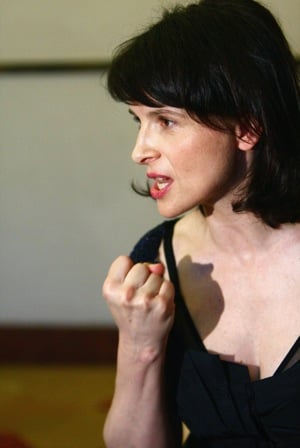 Juliette Binoche on the Unbearable Side of Being in a Relationship