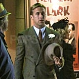 Ryan Gosling has been shooting the period piece in downtown LA.