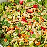 Thai Chicken Salad With Orange Peanut Sauce
