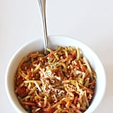 "Low-Calorie, Low-Carb Slaw and Order ""Pasta"""