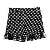 POPSUGAR Ruffle Hem Shorts