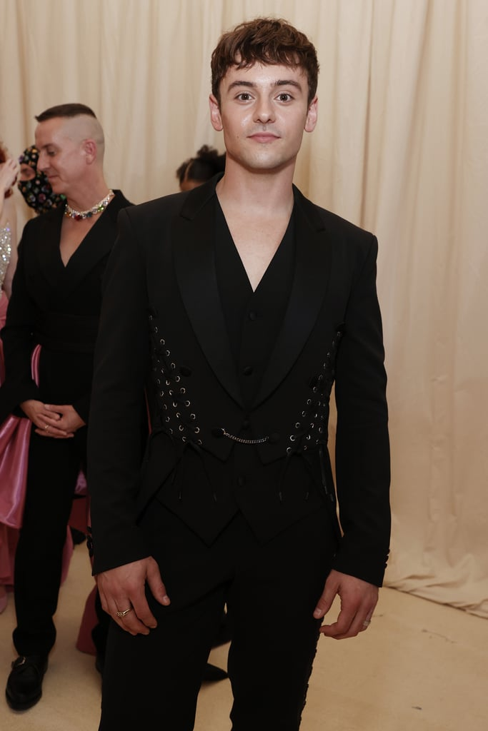 Tom Daley Knits a Harry Styles Cardigan Before the Met Gala