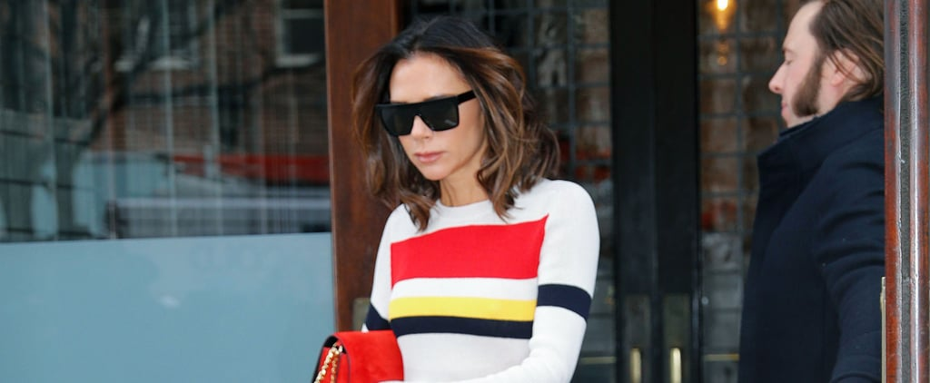 Victoria Beckham's Red Pants November 2018