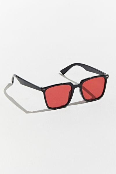 UO Herman Thin Square Sunglasses