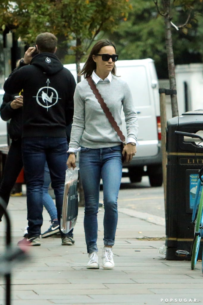 Pippa Middleton's Affordable Bag Is Perfect For Running Errands in the Fall
