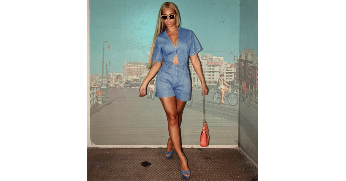 41a809f238 Beyoncé Just Gave Us the Sexiest Way to Wear Summer Denim