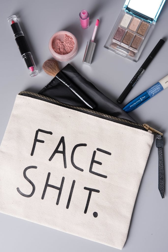 """Face Sh*t"" Cosmetic Bag"