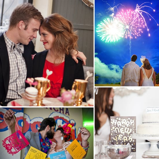 A Year of Holiday Weddings