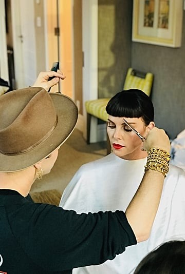 Adir Abergel on Charlize Theron's Hair Transformations