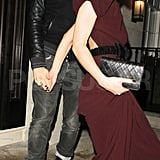 Keira Knightley left a party with James Righton.