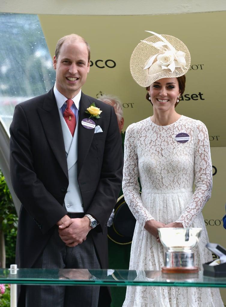 Kate Middleton at the Royal Ascot June 2016