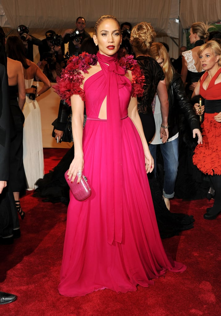 Jennifer Lopez Wearing Gucci to the 2011 Costume Institute Gala