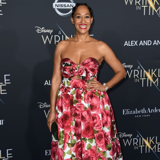 Tracee Ellis Ross Pink Boots