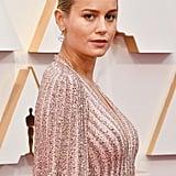 Brie Larson's Celine Cape Dress Oscars 2020 | Photos