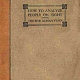 No. 3 How to Analyze People on Sight