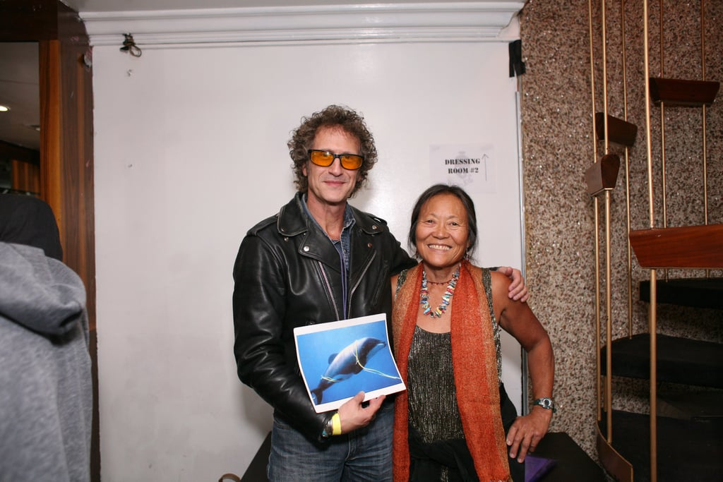 Peggy Oki at a Benefit Concert For Ric O'Barry's Dolphin Project