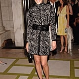 A prim and proper printed pick, cinched with a belt, looked office-chic on Chloë Sevigny way back in 2006.