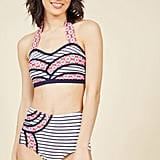 ModCloth Set the Serene Bikini