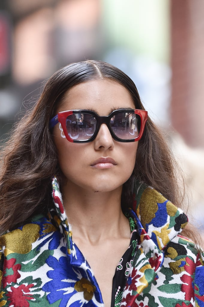 Sunglasses on the Cynthia Rowley Runway at New York Fashion Week