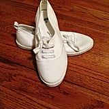 My White Low-Top Sneakers