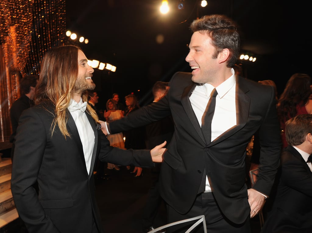 Jared buddied up with Ben Affleck.