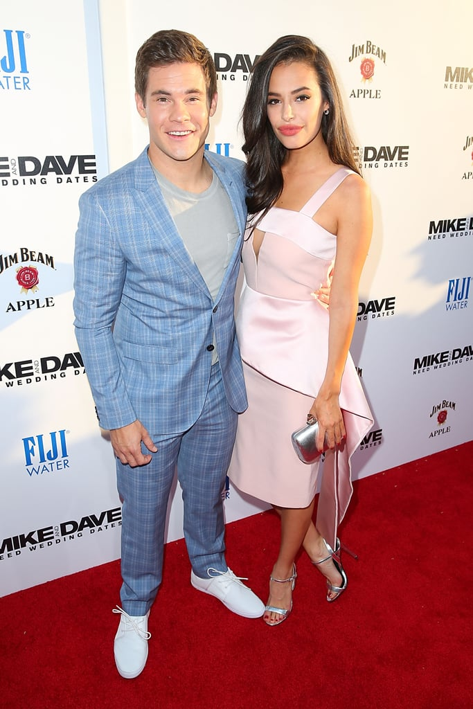 devine dating Who is chloe bridges currently dating it's no secret, she's dating actor adam  devine, we have some exclusive information about their.
