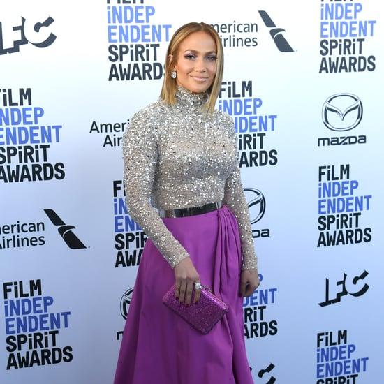 Jennifer Lopez's Blond Lob Haircut