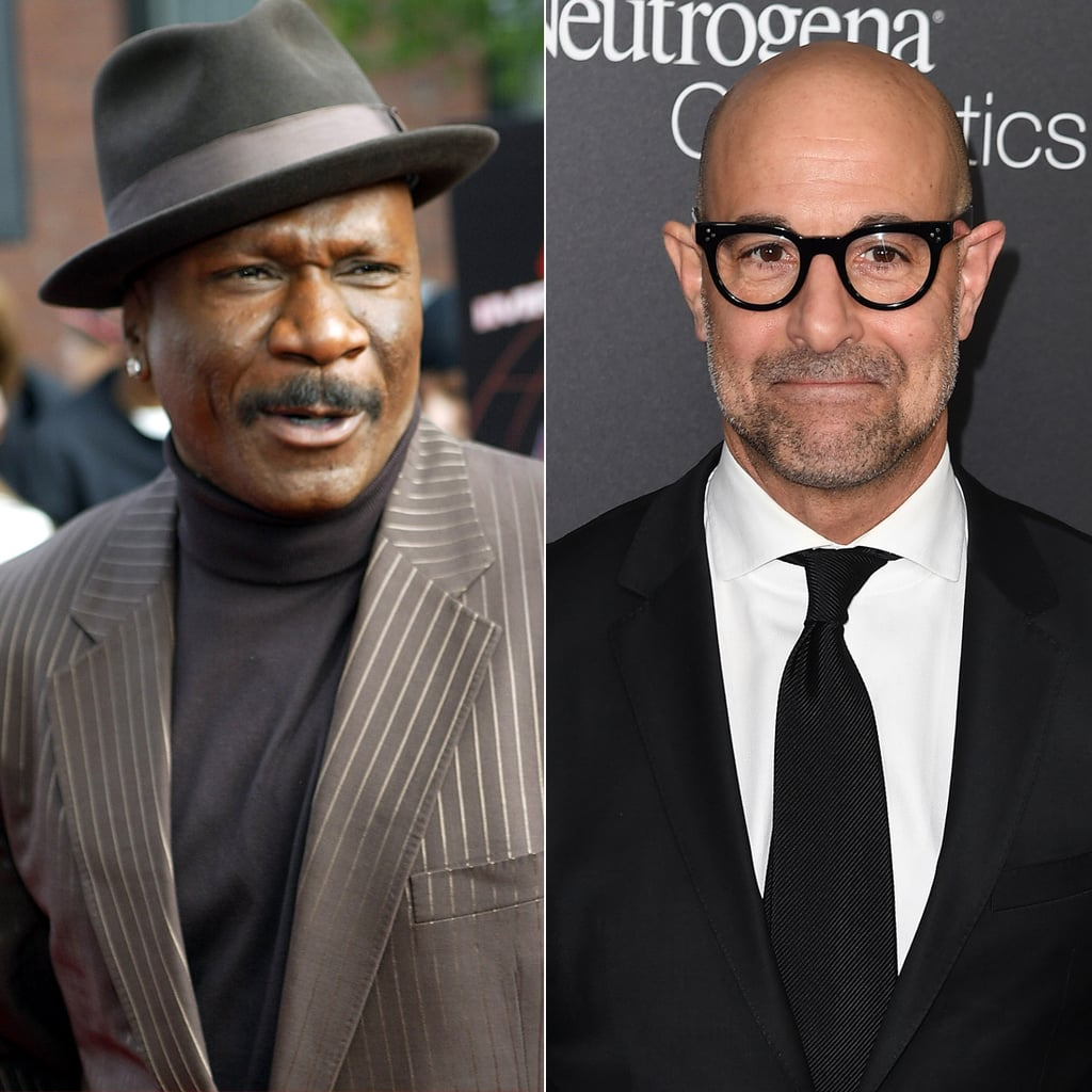 Ving Rhames and Stanley Tucci