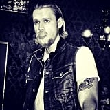 Chord Overstreet as Charlie Hunnam in Sons of Anarchy