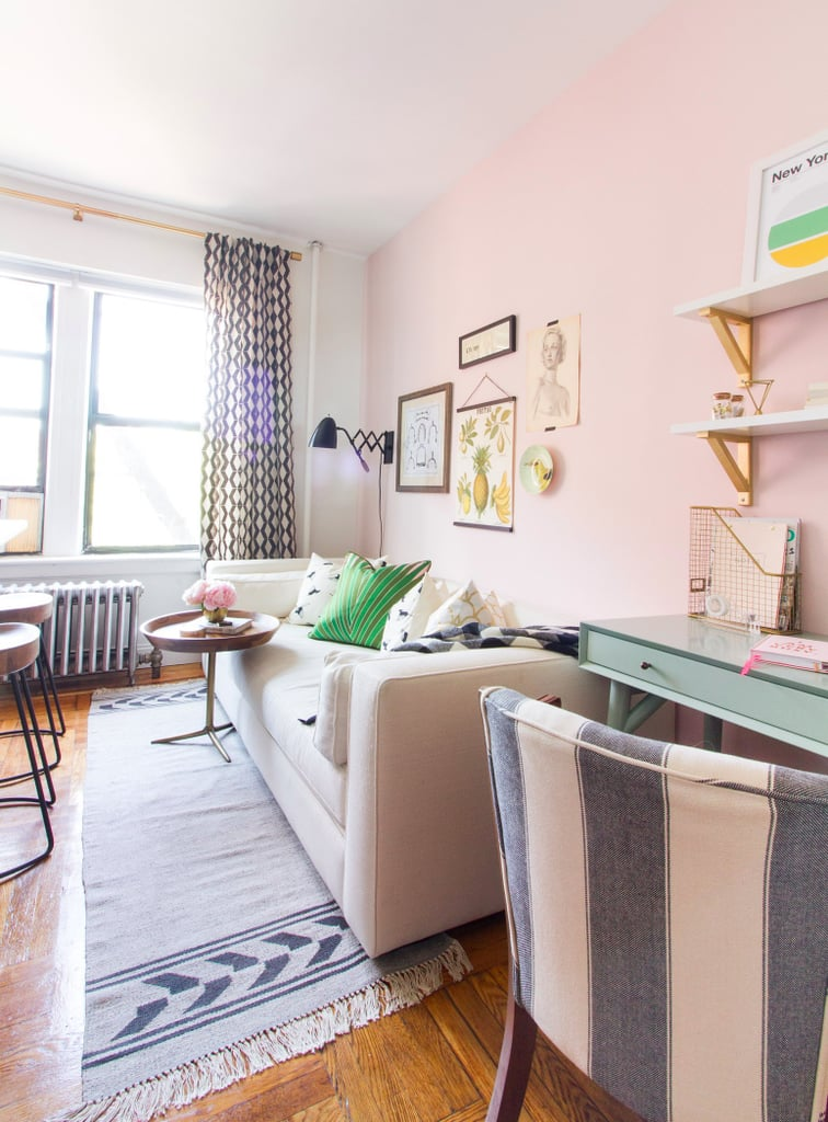 This 320-Square-Foot Studio Is the Perfect Example of How to Do Small-Space Living