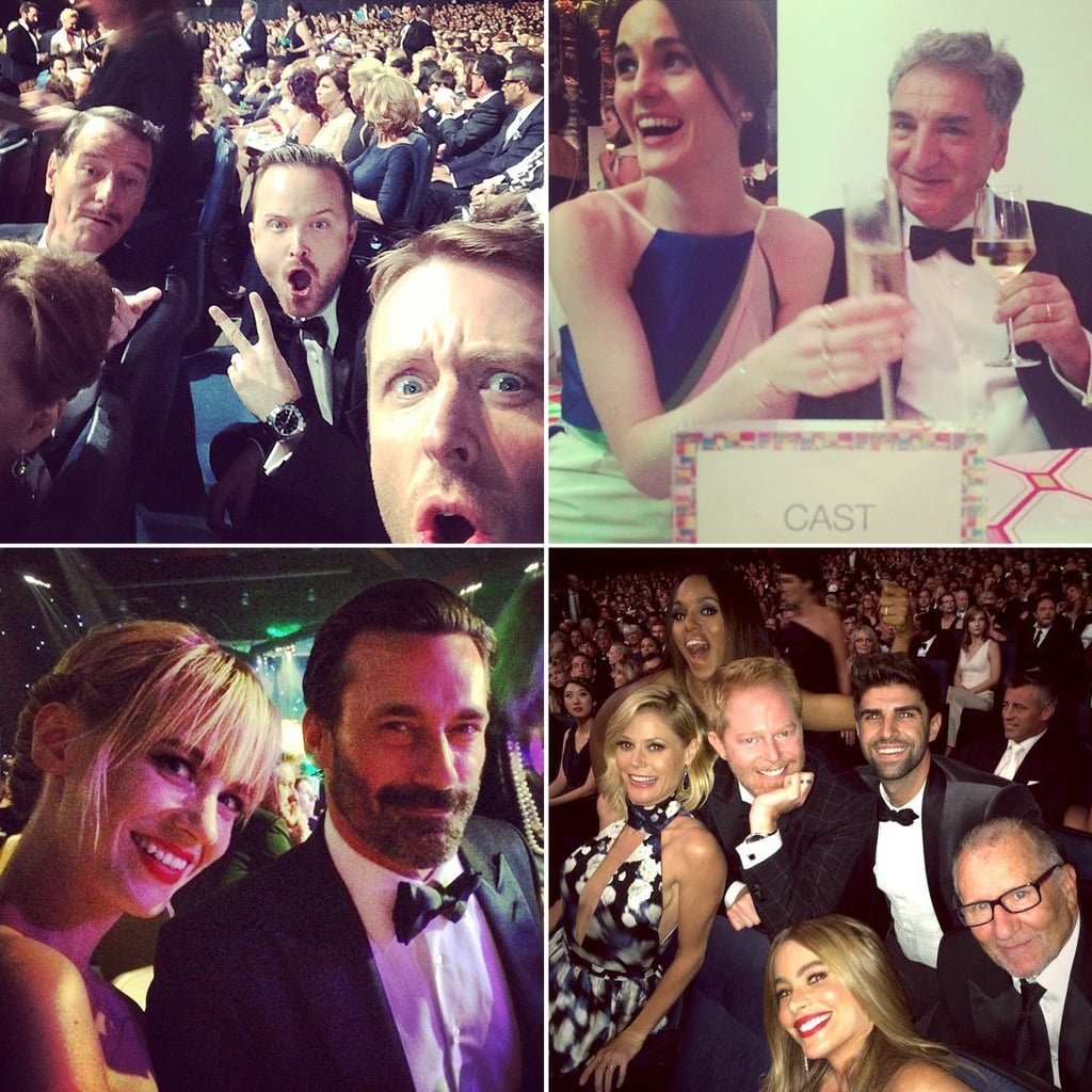Celebrity Twitter and Instagram Pictures at the 2014 Emmys
