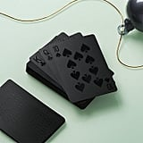 CB2 Blackcard Playing Cards