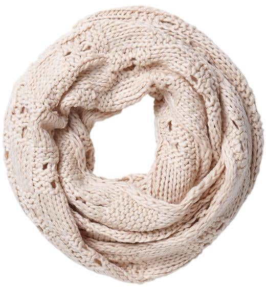 Spun by Subtle Luxury Chunky Knit Basket Infinity Scarf