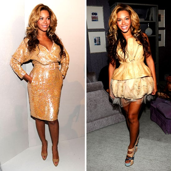 Pictures of Beyonce Pregnant at New York Fashion Week: What Do You Think of her Nude Maternity Style?