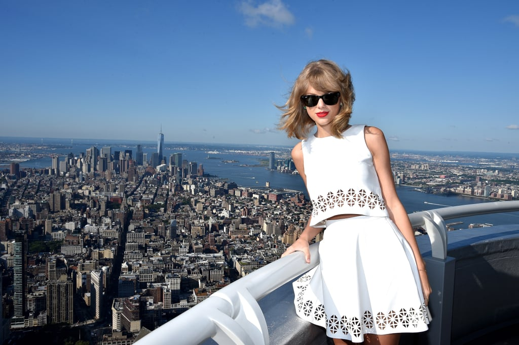 "While making the press rounds to promote her upcoming album, 1989, Taylor Swift has been dropping more than a few thoughtful one-liners, adding to her long list of quotable moments from over the years. Most recently, Taylor called out the ""sexist"" critics who say she only writes about romantic relationships. She said, ""Frankly, I think that's a very sexist angle to take. No one says that about Ed Sheeran. No one says that about Bruno Mars. They're all writing songs about their exes, their current girlfriends, their love life, and no one raises a red flag there."" Her compelling comments aren't the only thing making headlines these days, though, as she's topping the charts with her latest songs — even when the ""song"" is only eight seconds of white noise. To celebrate the release of 1989 next week, take a look at 13 (naturally) of Taylor's most insightful, empowering quotes."