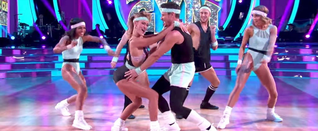 No Matter How Hard You Try, You Won't Be Able to Look Away From Nick Lachey's '80s Number on DWTS