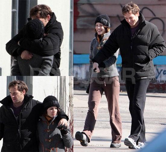 Rachel McAdams and Josh Lucas Kissing in Canada