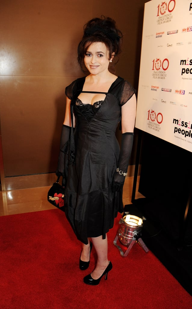 Helena Bonham Carter was given the Dilys Powell award for excellence in film.