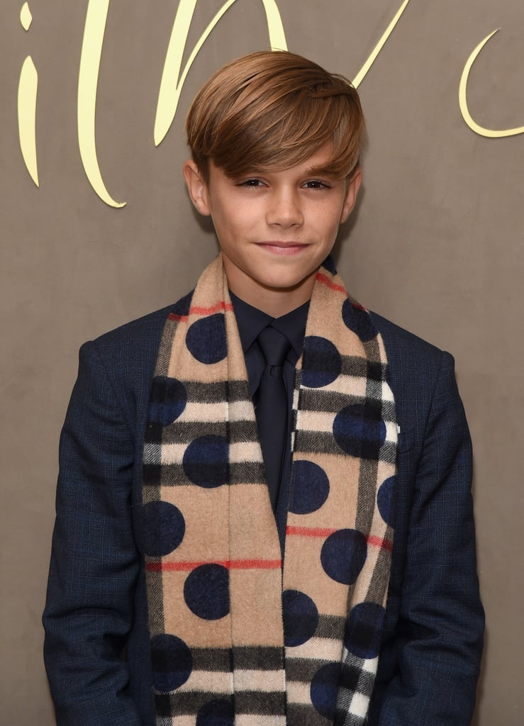 Pictured Romeo Beckham Victoria Beckham And Her Sons At
