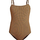 Belize Luca Checked Swimsuit