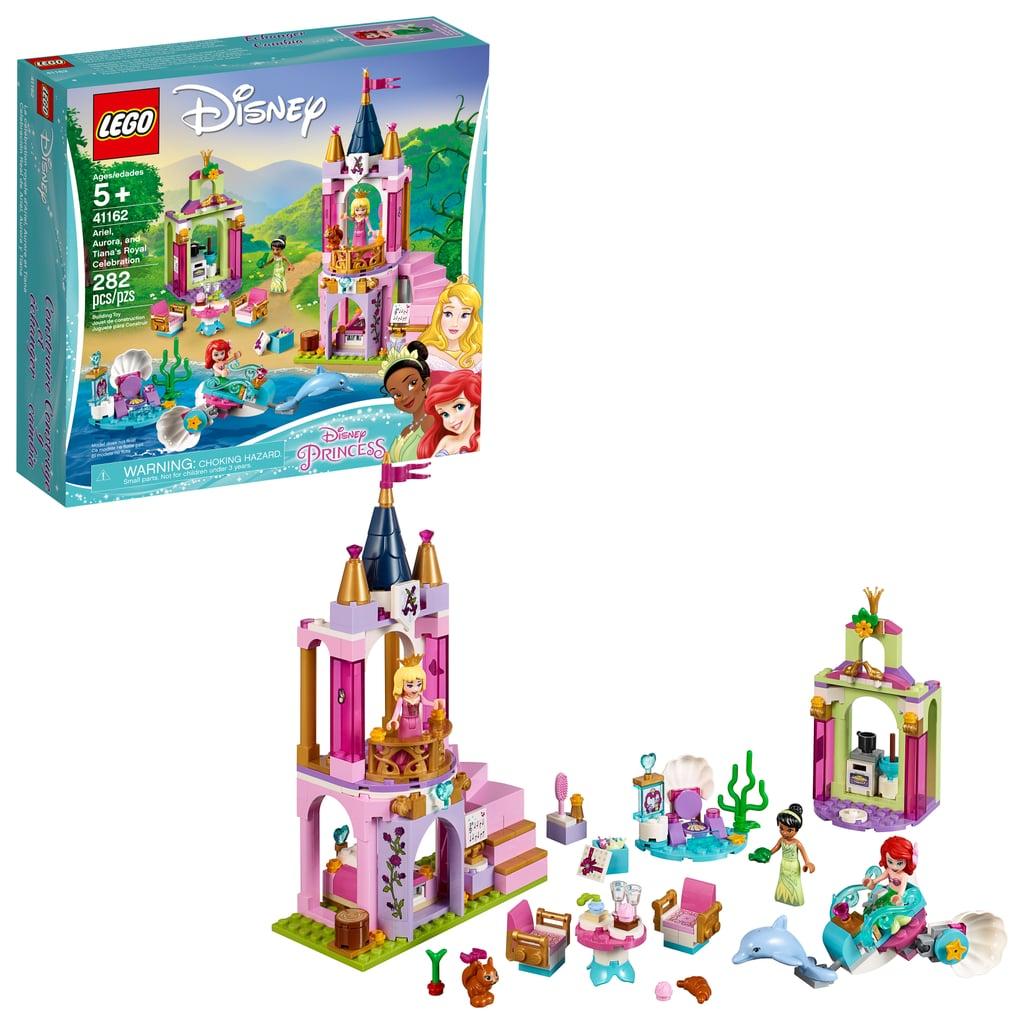 Lego Disney Ariel, Aurora, and Tiana's Royal Celebration