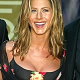 Jennifer Aniston With Golden Highlights