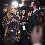 Pictured: Jennifer Lopez, Celebrities, and Chris Evans